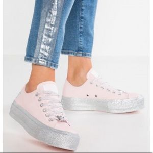 Converse Shoes - Conv&Maley Ctas Lift Low Top Pink Dogwood W AUTHEN